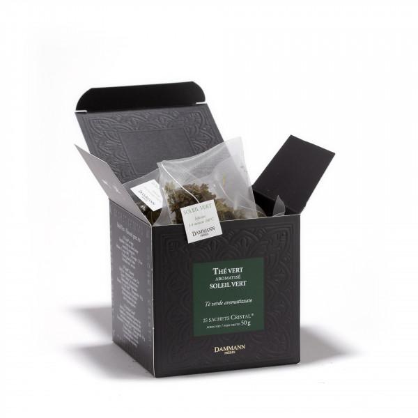 Soleil Vert, box of 25 Cristal® sachets