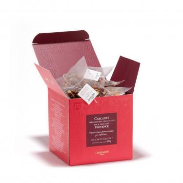 Fruit Infusion - 'Carcadet Provence', box of 20 Cristal® sachets