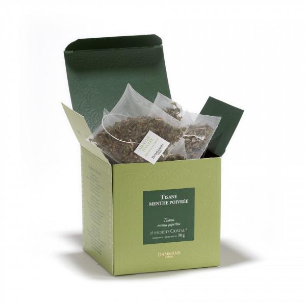 Peppermint, box of 25 cristal® sachets