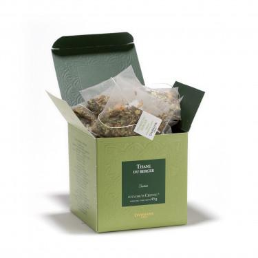 Herbal tea - Tisane du Berger, box of 25 Cristal® sachets