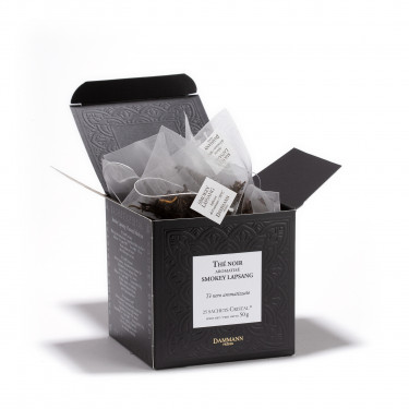 Smokey Lapsang' Box of 25 Cristal® sachets