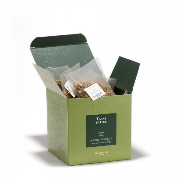 Lime Blossom, box of 25 Cristal® sachets