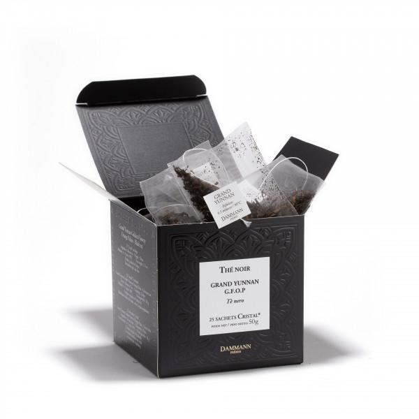 GRAND YUNNAN GFOP, box of 25 Cristal® sachets