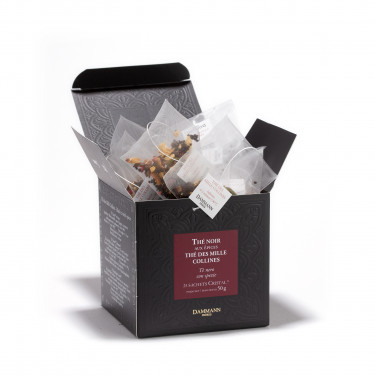 Thé des Mille Collines', box of 25  Cristal® sachets