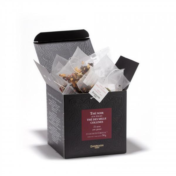 Thé des Mille Collines', box of 25  Cristal® sachets