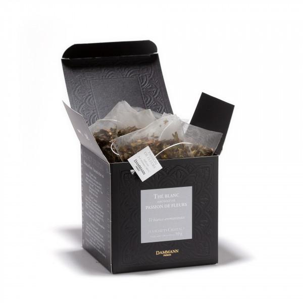 Passion de Fleurs, box of 25 Cristal® sachets