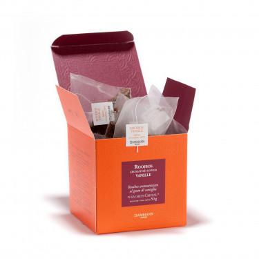 Rooibos Vanille, box of 25 Cristal® sachets
