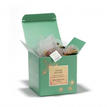 Tisane de Noël', box of 25 Cristal® sachets