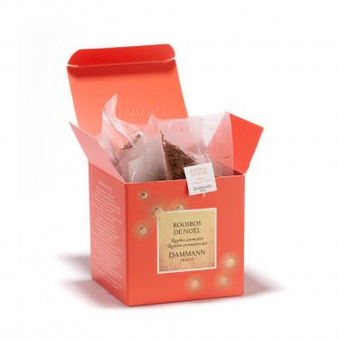 Rooibos de Noël, box of 25 Cristal® sachets