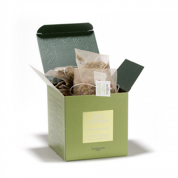 TISANE DES MERVEILLES, box of 25 Cristal® sachets