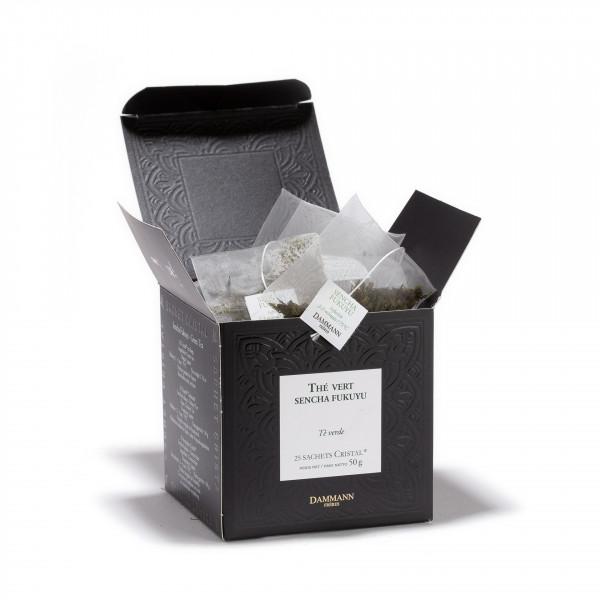 Sencha Kukuyu, box of 25 Cristal® sachets