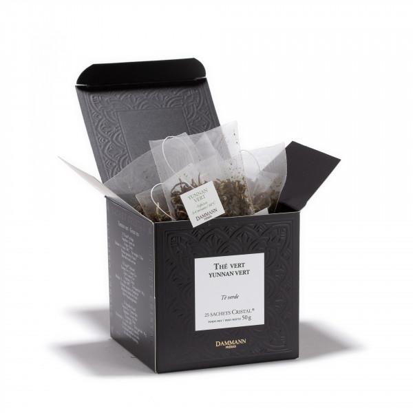 Yunnan Vert, box of 25 Cristal® sachets
