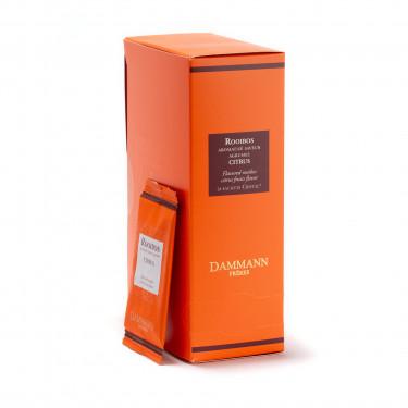 Rooibos Citrus, box of 24 enveloped Cristal® sachets