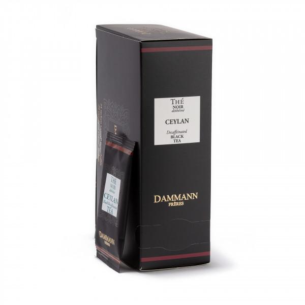 Decaffeinated Ceylon, box of 24 enveloped Cristal® sachets