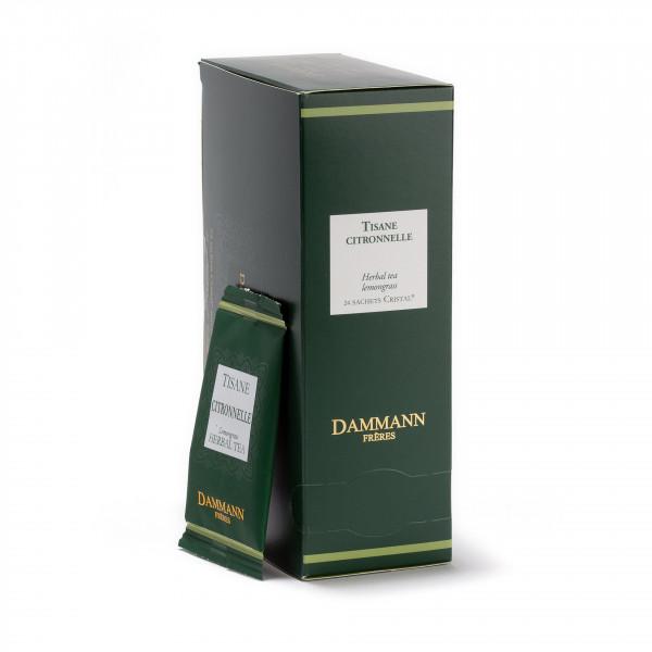 Lemongrass, box of 24 enveloped Cristal® sachets