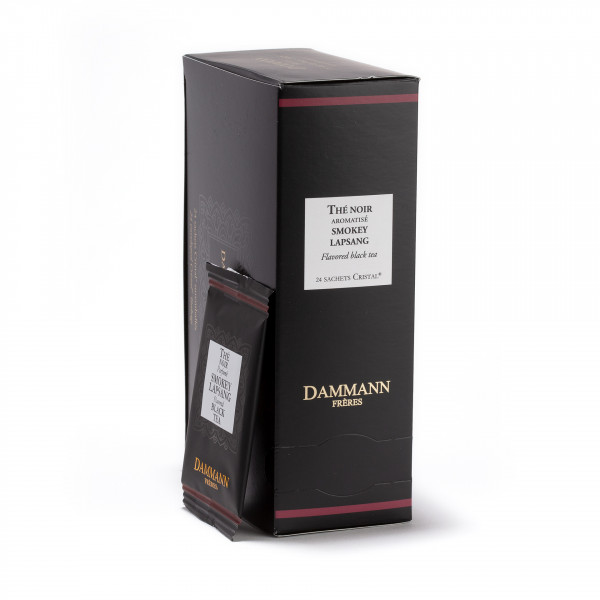Smokey Lapsang' Box of 25 Cristal® sachets