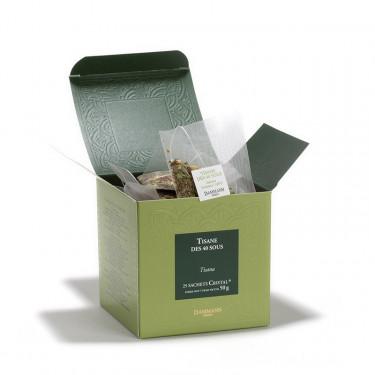Tisane des 40 Sous', box of 25 Cristal® sachets