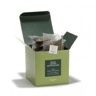 VERVEINE-MENTHE POIVRÉE, box of 25 Cristal® sachets