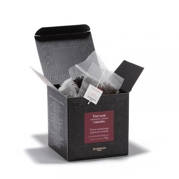 Caramel, box of 25 Cristal® sachets