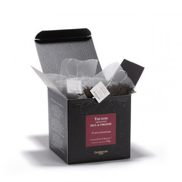 Paul & Virginie, box of 25 Cristal® sachets