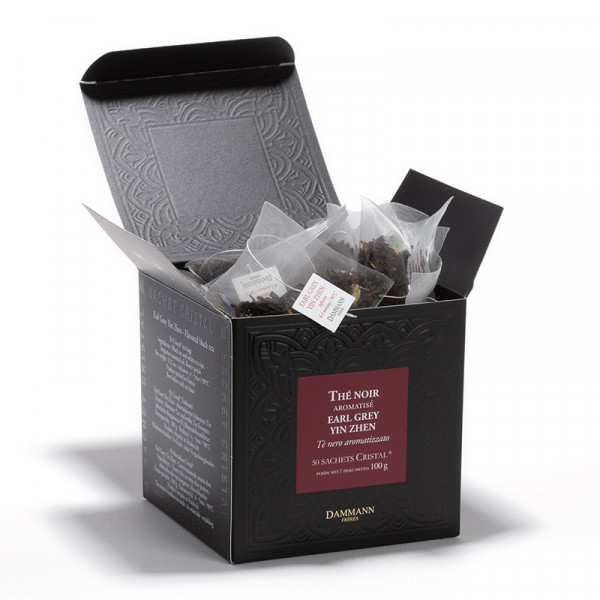 Earl Grey Yin Zhen, box of 50   Cristal® sachets