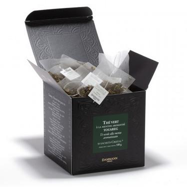 Thé vert Menthe - Touareg, 50 Sachets Cristal ®
