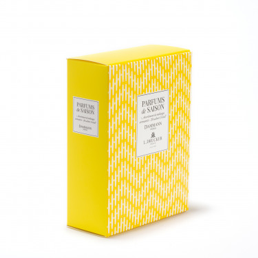 """PARFUMS DE SAISON"" YELLOW GIFT SET - SPRING/ SUMMER 2021 - 20 ASSORTED SACHETS"