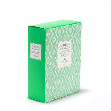 """PARFUMS DE SAISON"" GREEN GIFT SET - SPRING/ SUMMER 2021 - 20 ASSORTED SACHETS"