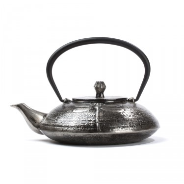 Chinese cast iron teapot - Libellule 0,6 L - silver