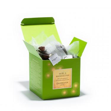 NOËL À MANHATTAN, box of 25 Cristal® sachets