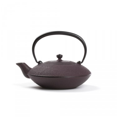 Japanese cast iron teapot - Mayumi 0,4 L - burgundy