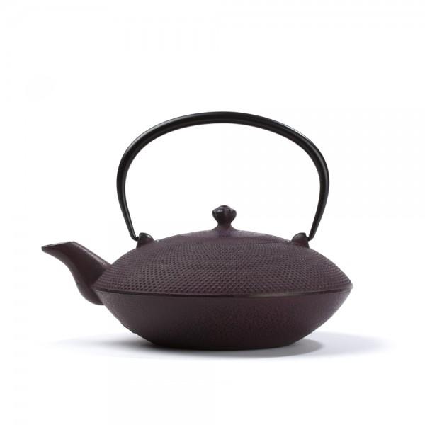 Japanese cast iron teapot - Mayumi 0,85 L - burgundy