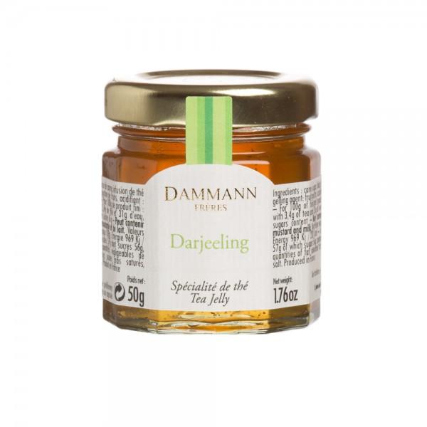 Darjeeling' tea jelly in mini jar