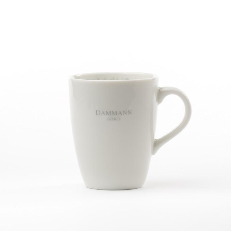 mug en porcelaine dammann fr res. Black Bedroom Furniture Sets. Home Design Ideas