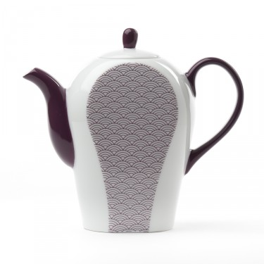 Théière Porcelaine - Auteuil 0,8 L - Violette