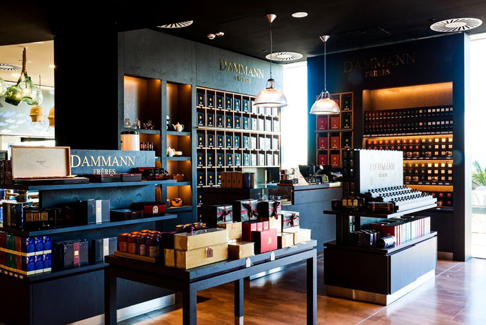 Dammann Frères shop in Portugal