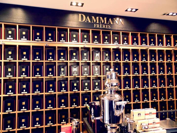 Dammann Frères outlet in Aix en Provence