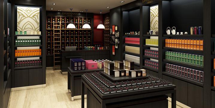shop Dammann Frères Saint-Germain - Paris -