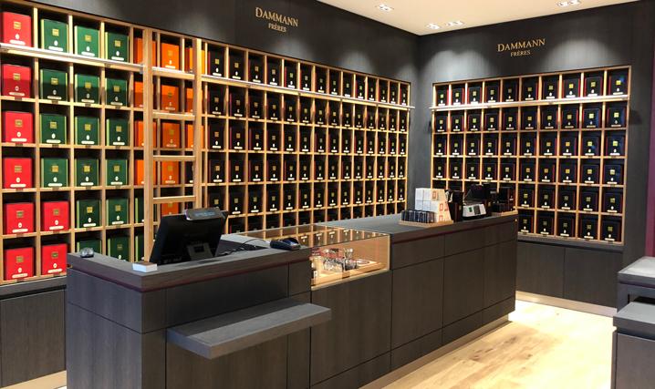 Boutique Dammann Frère à Lyon 2