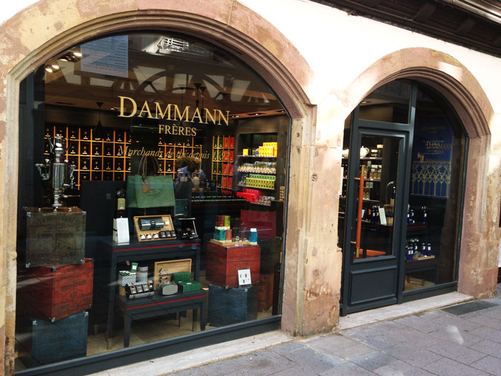 Dammann Frères outlet in Strasbourg near Cathedral