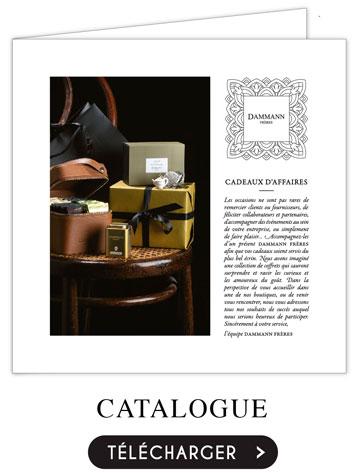 catalogue cadeaux d'affaires Dammann Frères