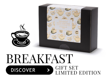 Breakfast / Petit-Déjeune gift set- 20 ASSORTED SACHETS
