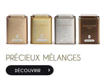 collection précieux mélanges Dammann Frères