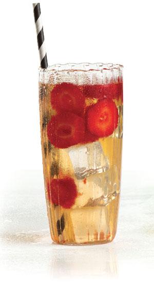 eau parfumée Touareg, concombre, fraise et melon