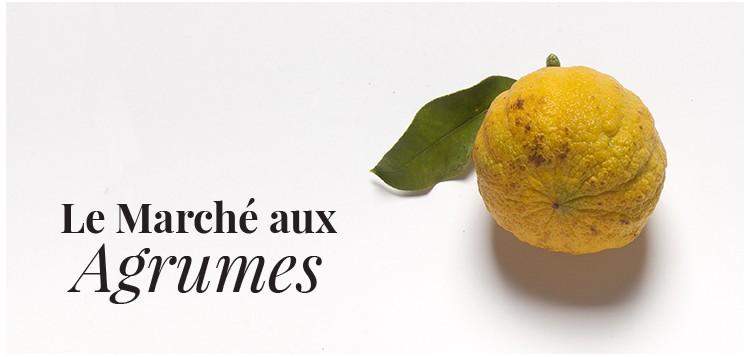 LE MARCHÉ AUX AGRUMES