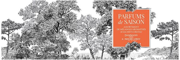 """PARFUMS DE SAISON"" GIFT SET  : DAMMANN FRÈRES x ISIDORE LEROY"